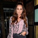 Vicky Pattison – Night out at Rosso Restaurant in Manchester - 454 x 681