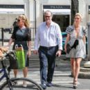 Nicky Hilton – Shopping with her parents in Paris