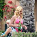 Heidi Montag – on set of 'The Hills New Beginnings' in La Quinta