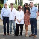 Nicole Scherzingerat The X Factor Auditions in Surrey