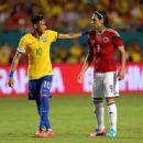Brazil v Colombia September 5, 2014