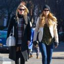 Paris and Nicky Hilton Shopping Together In New York City