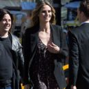 Heidi Klum spotted on the set of 'Ocean's Eight' in Los Angeles, California on March 6, 2017 - 420 x 600