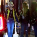 Cara Delevingne and Ashley Benson – Leaves Lucky Strike in New York
