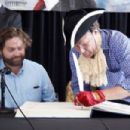 """Will Ferrell and Zach Galifianakis promoting """"The Campaign"""" in Philadelphia (July 31)"""