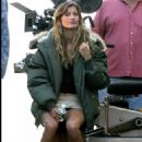 Gisele Bündchen - On The Set Of The Movie Taxi - 20 September 2003