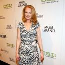 Marg Helgenberger - Grand Opening Of The CSI: The Experience Attraction At MGM Grand Hotel/Casino September 12, 2009 In Las Vegas, Nevada