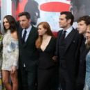 Diane Lane, Gal Gadot, Ben Affleck, Amy Adams, Henry Cavill, Jesse Eisenberg, Holly Hunter - March 20, 2016-New York Premiere of Batman v Superman Dawn of Justice - 400 x 266