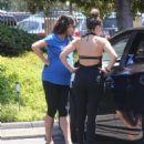 Mila Kunis Leaving A Yoga Class In Studio City