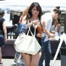 Rachel Sterling – Shopping at Farmer's Market in Studio City