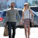Kate Bosworth and Michael Polish grocery shopping at Bristol Farms in West Hollywood, CA (July 24)