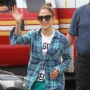 Jennifer Lopez Filming Shades Of Blue In Nyc
