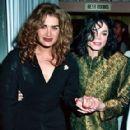 Brooke Shields and Michael Jackson