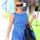 Reese Witherspoon Leaving a Church in LA