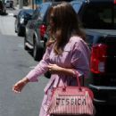 Jessica Alba – Leaving a Thai restaurant in West Hollywood