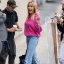 Tish Cyrus – Arriving at Jimmy Kimmel Live! in LA - 454 x 649