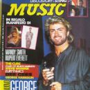 George Michael - Music Magazine Cover [Italy] (1 August 1988)