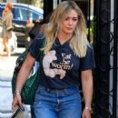Hilary Duff – Out for lunch in West Hollywood