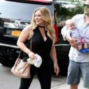 Hilary Duff: with adorable son Luca Cruz in NYC