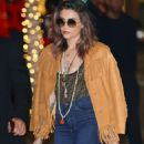 Paris Jackson – Arriving at 'Fendi Prints On x Nicki Minaj' collab launch party in Beverly Hills - 454 x 681