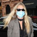 Kate Moss – Wearing a protective face mask in London