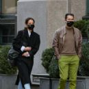 Katie Holmes – With Emilio Vitolo Jr. take a stroll in NYC
