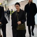 Chloe Moretz – Arrives at Heathrow Airport in London