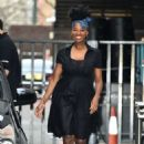 Jamelia Davis at ITV Studios in London - 454 x 681