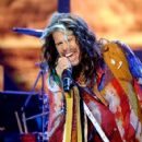 "Singer/songwriter Steven Tyler performs onstage during ""American Idol"" XIV Grand Finale at Dolby Theatre on May 13, 2015 in Hollywood, California."