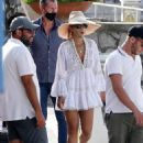 Rita Ora – Seen out in Capri