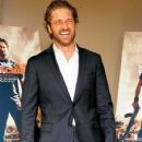 Gerard Butler attends a screening for 'Machine Gun Preacher' at the Mayfair Hotel