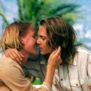 Franka Potente and Johnny Depp in New Line's Blow - 2001
