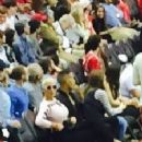 Amber Rose Supporting New Boyfriend James Harden at the Houston Rockets Vs the Portland Trail Blazers at the Toyota Center in Houston, Texas - February 8, 2015 - 225 x 225