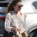 Lily Collins – Shopping at Bristol Farms in Beverly Hills - 454 x 728