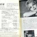 Mylène Demongeot - Positif Magazine Pictorial [France] (November 1963) - 454 x 330