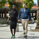 Jodie Turner-Smith and Joshua Jackson – Out in Los Angeles