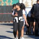 Blac Chyna and Kourtney Kardashian at The Pumpkin Patch in Los Angeles, California - October 14, 2016 - 454 x 555