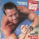 Arnold Schwarzenegger - News of the World Sunday Magazine Cover [United Kingdom] (31 August 1986)