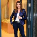Cindy Crawford Omega Oxford Street Flagship Boutique Opening In London