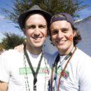 Jonathan Groff and Gavin Creel