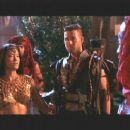 Steven Brand and Kelly Hu in Universal's The Scorpion King - 2002