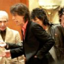 The Rolling Stones attends a press conference on April 7, 2006 in Shanghai, China. The Rolling Stones will hold their first-ever concert in mainland China on April 8 at the 8,500-seat Shanghai Grand Stage - 454 x 300