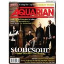 Corey Taylor, Roy Mayorga, Josh Rand, James Root - The Aquarian Weekly Magazine Cover [United States] (23 January 2013)