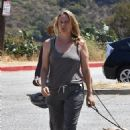 Alicia Silverstone – Out on a hike with her dogs in Los Angeles - 454 x 693