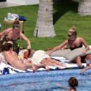 Jessica Simpson - Working On Her Tan Poolside In Mexico, 2. 4. 2009.