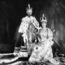 Queen Mary and King George V - 454 x 585