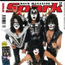 Eric Singer, Gene Simmons, Paul Stanley, Tommy Thayer - Spark Magazine Cover [Czech Republic] (December 2012)