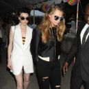 St. Vincent and Cara Delevingne Stella McCartney's Spring 2016 Resort Collection unveil in New York, Mon Jun 8 2015