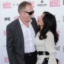 Salma Hayek attends the 2013 Film Independent Spirit Awards at Santa Monica Beach on February 23, 2013 in Santa Monica, California
