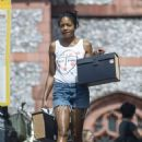 Naomie Harris – Out in North London